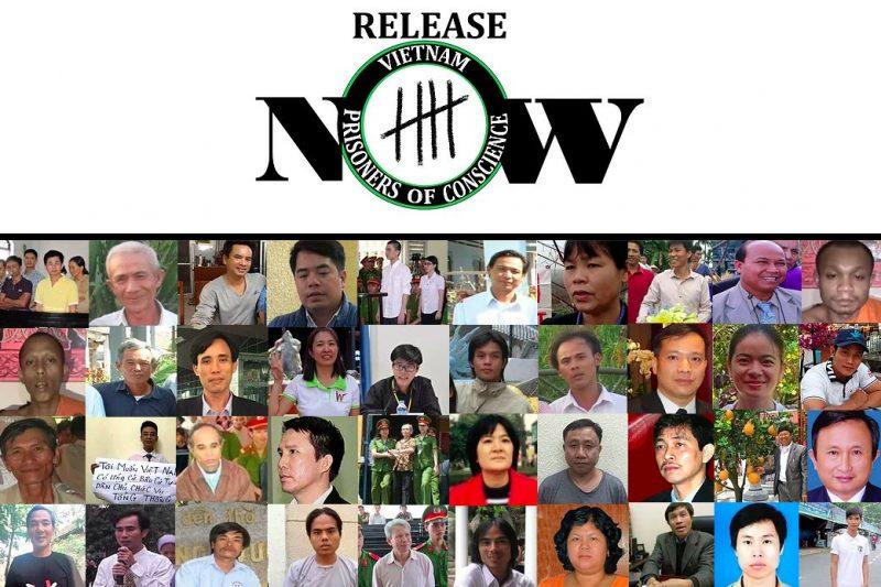 Image result for những người Việt tranh đấu cho tự do,, nhân quyền và môi tường đang bị cầm tù