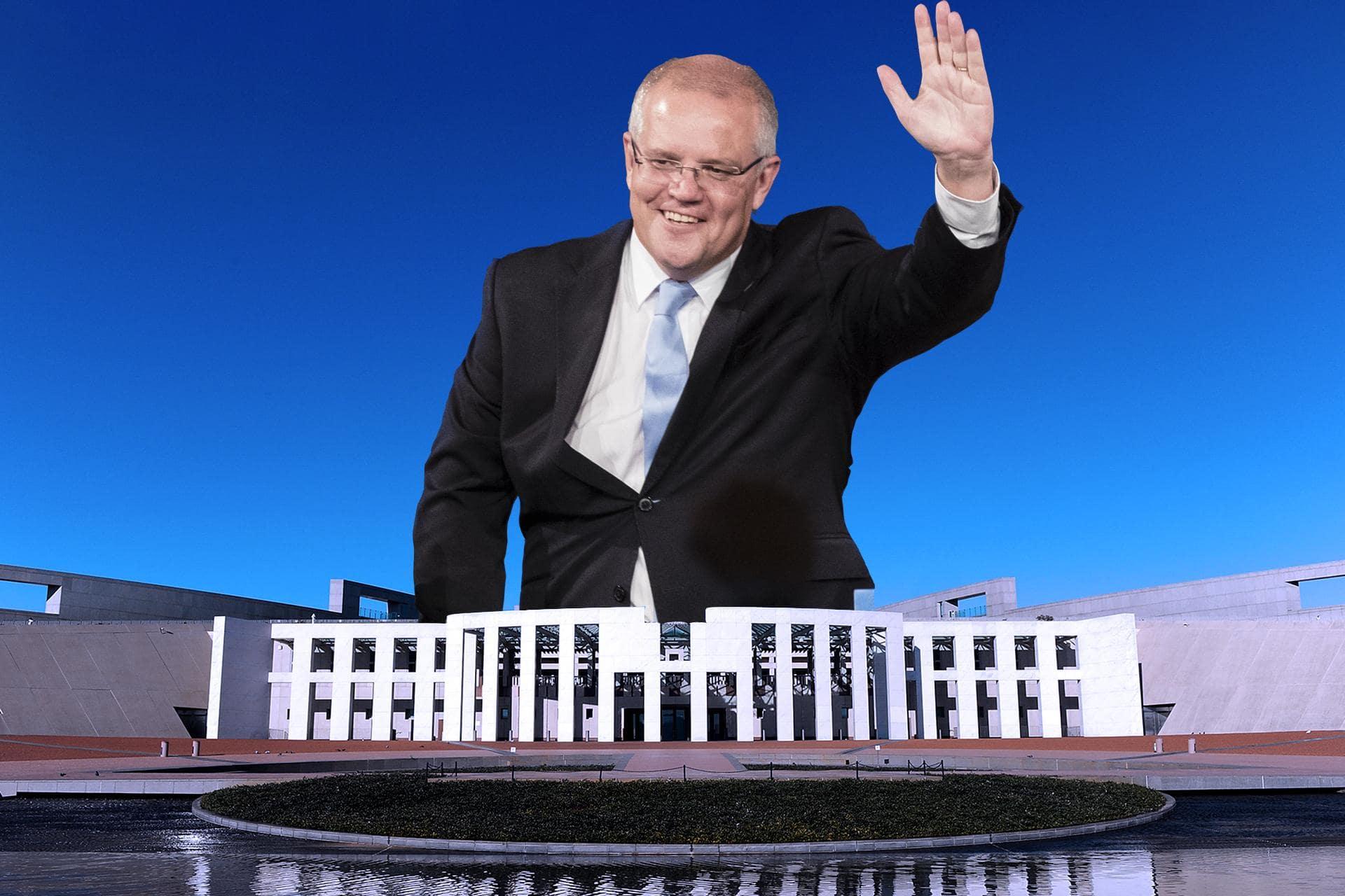 Image result for Vì sao bầu cử Úc trái ngược dự đoán?