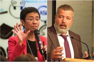 Giải Nobel Hòa bình 2021 được trao cho hai nhà báo